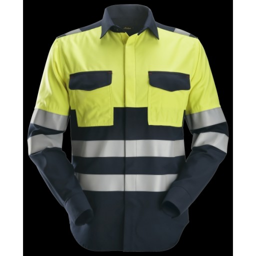 Multinorm Shirt Snickers Workwear 8563