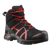 Werkschoenen Haix black eagle Mid Black red 40 S3 ESD