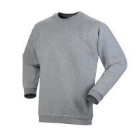 Sweater Workman ronde hals  grijs melee