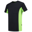 T-shirt Tricorp 102002 TT2000 navy/lime