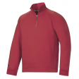 Sweater Snickers 2813 multipockets ritskraag rood