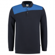 Polosweater Tricorp 302004 schuine naden navy-royal