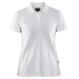 Dames polo pique Blaklader 3307 wit