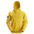 Hooded Sweater Snickers 2881 met 3d print - geel