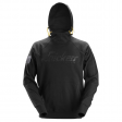 Hooded Sweater Snickers 2881 met 3d print - zwart