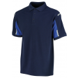 Poloshirt Orcon capture Aaron bi-colour navy met korenblauw