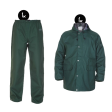 Regenkleding set Hydrowear simply no sweat groen ( Basic pakket)