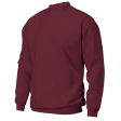 Sweater Tricorp Rom88 S280 ronde hals - wijn rood