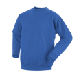 Sweater Workman ronde hals  koren blauw