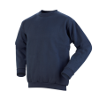 Sweater Workman ronde hals  Navy blauw
