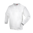 Sweater Workman ronde hals wit