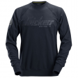 Snickers 2882 sweater crewneck - Navy blauw