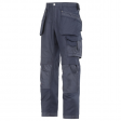 Werkbroek Snickers 3214 Canvas holsterzakken navy