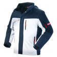 Winter softshell jack Workman Experience | Wit met Navy blauw