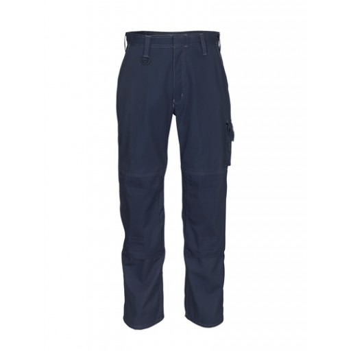 Werkbroek Mascot Biloxi met kniezakken navy blauw