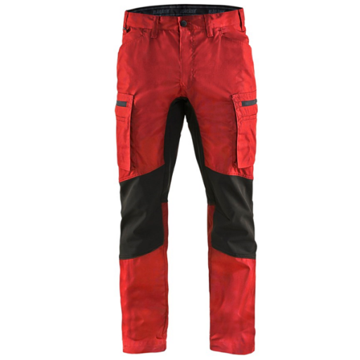 Werkbroek ( service) Blaklader 1459 rood met zwart