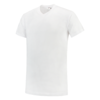T-shirt Tricorp 101007 TV190 V-Hals wit