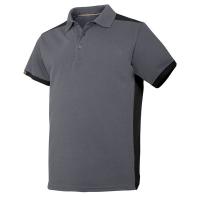 Poloshirt Snickers 2715 grijs met zwart