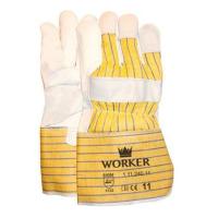 Handschoenen Msafe Nerfleder gerubberiseerde kap, 12 paar