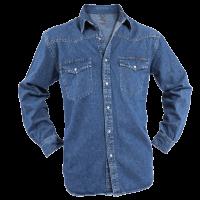 Jeans overhemd Brams Paris Brad 2.353 A54 denim