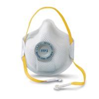 Stofmasker Moldex 2505 ventiel en clip FFP3,  10 stuks