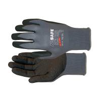Handschoenen M-Safe Nitri-Tech Foam 14-695 met nopjes, 12 paar