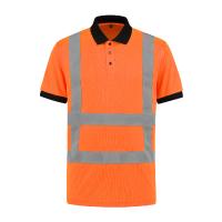 Poloshirt Best4Work WMS.NL EN471 RWS oranje