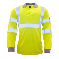 Poloshirt lm Portwest FR77 vlamvertragend AST geel