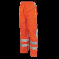 Regenbroek Tricorp TPA3001 RWS EN471 - Fluor oranje