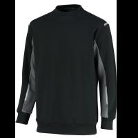 Sweater Orcon capture Ronald bi-colour - zwart met grijs
