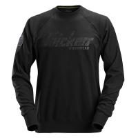 Snickers 2882 sweater crewneck - Zwart