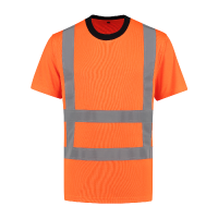 Tshirt Best4Work WMS.NL EN471 RWS oranje