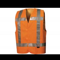 Veiligheidsvest Tricorp V-RWS-FRAST | Fluor oranje