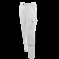 Werkbroek Workman Basic met kniezakken 100% katoen | Wit