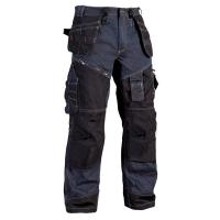 Werkbroek jeans Blaklader X1500 met Cordura Denim blauw met zwart