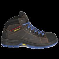 Werkschoenen Grisport Cyborg S3 - bruin met blauw