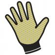 Handschoen Delta Plus VE730OR latex coated