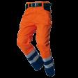 Werkbroek Tricorp TWE3001 EN20471 Fluor oranje met blauw
